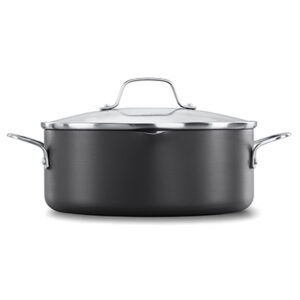 Calphalon Classic Hard-Anodized Nonstick 5 quart Dutch Oven with Cover