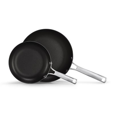 Calphalon classic hard anodized nonstick 2 piece fry pan set