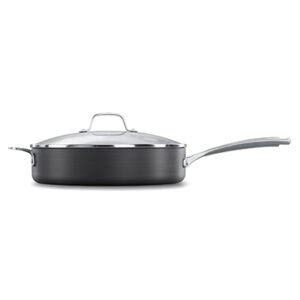 Calphalon classic hard anodized nonstick 5 quart Sauté pan with cover