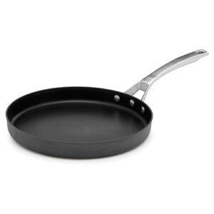 Calphalon signature hard anodized nonstick 12 inch round griddle pan