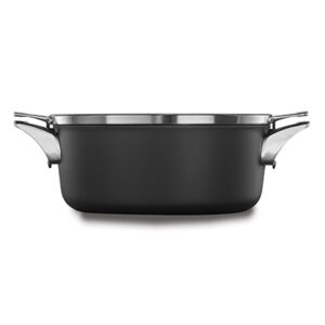 Calphalon premier space saving hard anodized nonstick 5 quart dutch oven with cover