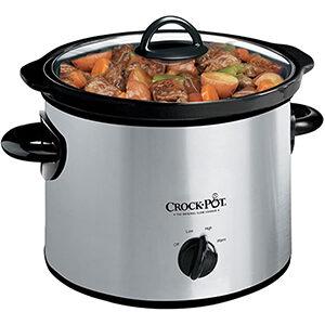Crock-Pot 3-qt. Manual Slow Cooker