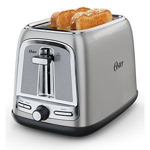 Oster 2-Slice Stainless Steel Toaster